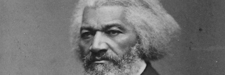 Frederick Douglass and Abraham Lincoln