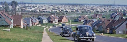 Postwar Rise of the Suburbs