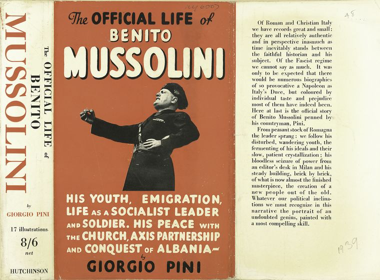 the life works and philosophies of benito mussolini Italian fascism in the political spectrum  it makes of political parties and philosophies that combine one or a few  life and work of benito mussolini,.