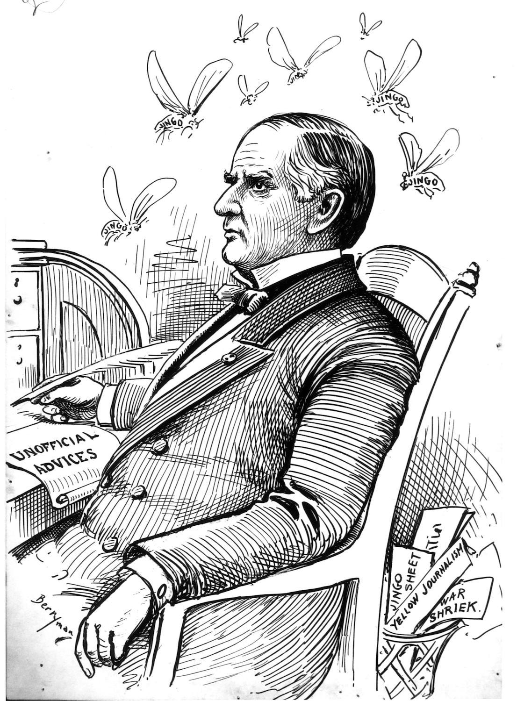 Political Cartoon by Jim Berryman | Harry S. Truman